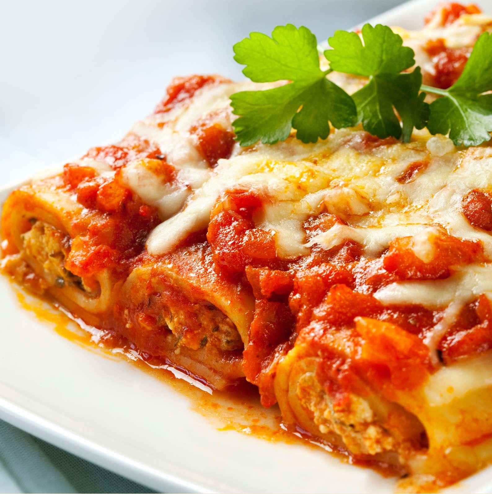 Three-Meat Special Lasagna